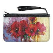 Женская сумка Клатч кожаный Devays Maker Маки
