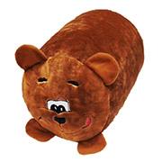 Антистрессовая подушка Медведь велюр