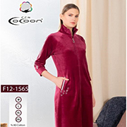 Жіночий халат Cocoon 12-1565 dark rose