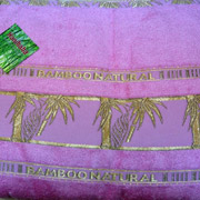 Простынь бамбуковая Hanibaba Naturale розовая