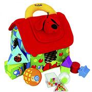 Набор игрушек Мягкий сортер Домик Ks Kids 10460