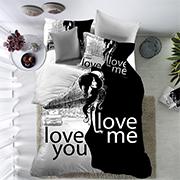 Постельное белье Love You двухсторонняя микрофибра QY 1277