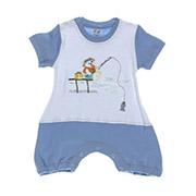 Комбинезон детский Niso Baby голубой