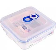 Вакуумный контейнер для хранения продуктов Gipfel 158x158x55мм (пластик) 600 мл