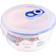 Вакуумный контейнер для хранения продуктов круглый Gipfel 131x86мм (пластик) 600 мл