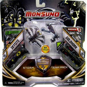 Набор для битвы Monsuno S.T.O.R.M. Skysite и Goldhorn Сombat 2-Packs W5 34440-42939-MO