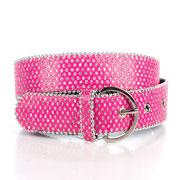 Ремень тканевый Gloria Jeans розовый