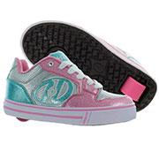 Роликовые кроссовки Motion Plus Heelys розово-голубые