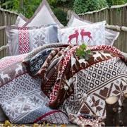 Комплект постельного белья Karaca Jammy красный
