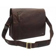 Кожаная сумка для ноутбука Visconti