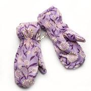 Рукавицы для девочки непромокаемые  Модный карапуз Лаванда 03-00607