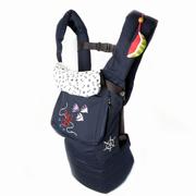 Эрго рюкзак синий морской Модный карапуз My baby 03-00345