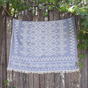 Плед Barine Kilim throw denim
