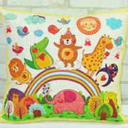Подушка детская декоративная Loskutini Сказочные животные LK.4441