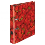 Папка-регистратор Herlitz А4 5см World of Fruit Strawberry 11288842