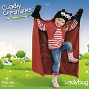 Плед-накидка детский Le Vele Ladybug