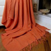 Плед Влади Лондон оранжевый