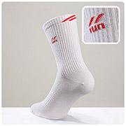 Мужские спортивные носки Active DiWaRi 7С-64СП 024 белый-красный