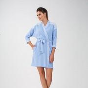 3329eeb610d Халат женский Ellen LDG 015 003 Синяя кашка