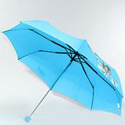 Складной мини-зонт Airton 3517 Девушки на синем