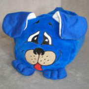 Антистрессовая подушка Собака велюр