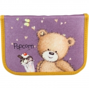 Пенал Kite Popcorn the Bear PO18-622 принт