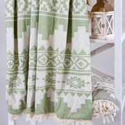 Плед микроплюш Barine Rug throw green eyes