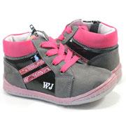 Детские ботинки Wojtylko 1А1096 черные
