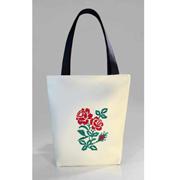 Молодежная сумка-шоппер Украинская вышивка Б324 Slivki