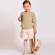 Кофточка с люрексом детская Лютик КД-364