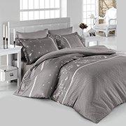 Комплект постельного белья SoundSleep Azara Gri ранфорс серый