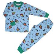 Пижама для мальчика МТФ 00430 голубая