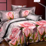 шелковое постельное белье с сатином