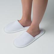 Тапочки махровые с закрытым носком HL Textile