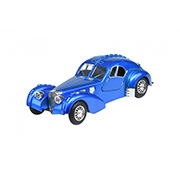 Автомобиль 1:28 Same Toy Vintage Car Со светом и звуком синий HY62-2Ut-5