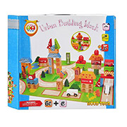 Деревянная игрушка Bambi Городок MD 0679