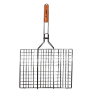 Решетка для гриля с деревянной ручкой Скаут 0707