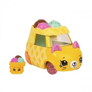 Игровой набор Shopkins Cutie Cars S3 мини-машинка Рожок-снежок с мини-шопкинсом 56736 6900006491007