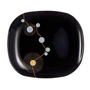 Тарелка для десерта Luminarc Sequins Black E8095