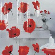 Шторка для ванной Spirella Poppy pvc