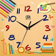 Настенные часы в детскую Юта Panorama CH010