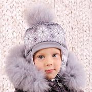 Зимняя шапка для мальчика Модный Карапуз Скандинавия 03-00465
