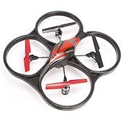 Квадрокоптер радиоуправляемый 2.4GHz V606 Cyclone Mini красный WL Toys