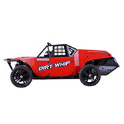 Багги 1:10 Dirt Whip E10DBL Brushless Himoto красный E10DBLr