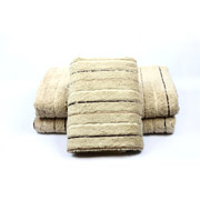 Полотенце махровое Izzihome Sport Lux бежевое