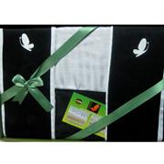 Постельное белье Mariposa Black and white бамбук-жаккард