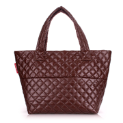 Стеганая сумка Poolparty Broadway broadway-quilted-brown