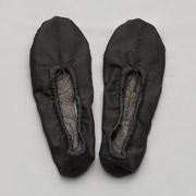 Балетки тканевые Модный Карапуз черные 06-00010