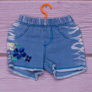 Шорты джинсовые для девочки Gloria Jeans 84832