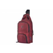 Рюкзак-слинг Wenger Console Cross Body Bag бордово-серый 605030